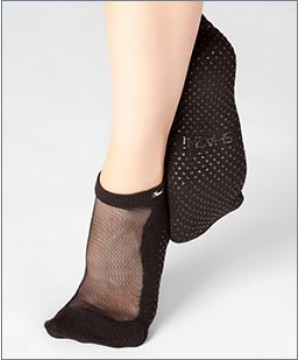 Shashi Classic Regular Toe Grip Socks Black