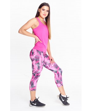 Step n Pump Essentials Corners Capri - Pink