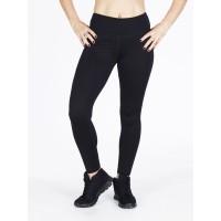 Step n Pump Essentials Plain Black Leggings