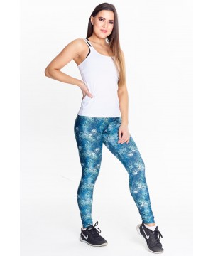 Step n Pump Essentials Print Leggings- Tropical Reef