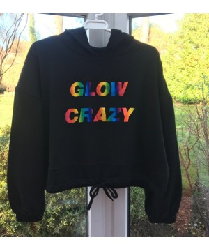 Step n Pump Essentials Black Glow Crazy Luxe Hoodie