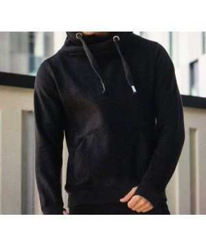 Step n Pump Essentials Unisex Cosy Hoodie - Jet Black