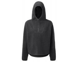 Step n Pump Essentials Charcoal Sherpa Fleece 1/4 Zip Hoodie