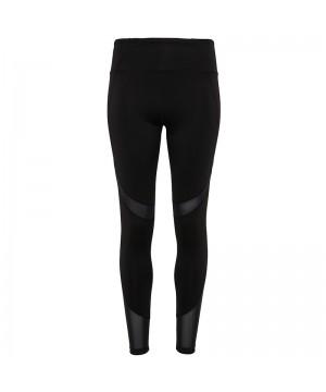 Step n Pump Essentials Mesh Panel Black Leggings
