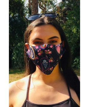 Step n Pump Essentials Pink Paisley Face Covering