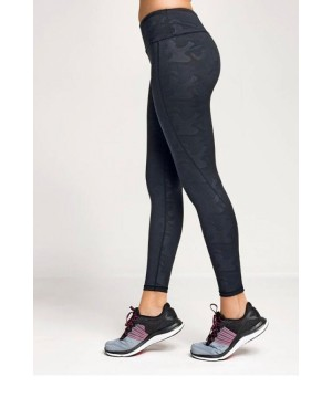Step n Pump Essentials Black Camo Leggings