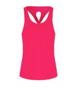 Step n Pump Essentials Knot Back Yoga Vest