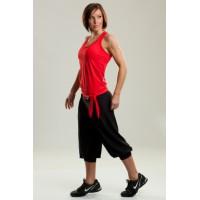 Step n Pump SP161B Fold Down Waist Harem Pants With Cuff