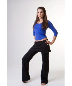 Step n Pump SP989 Slouch Pants With Wide Roll Over Waistband