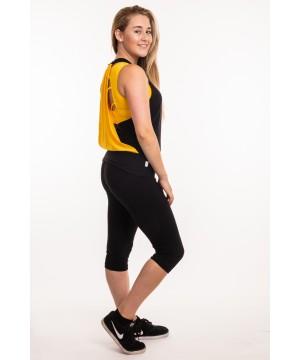 Step n Pump SP320A Black Waterfall Top With Contrast Colour Back