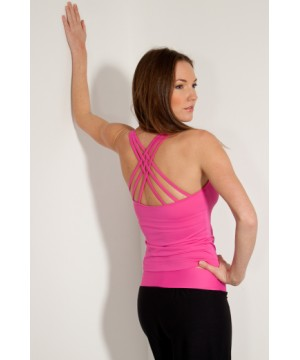 Step n Pump SP100 Spaghetti Strap Cross Back Cami ( multiple colours to choose from)