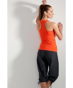 Step n Pump SP106 Long Racer Back Top (Multiple Colours to choose from)