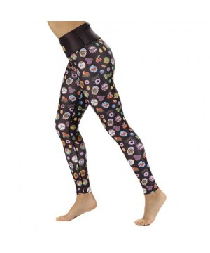 Black Candy Crush Leggings