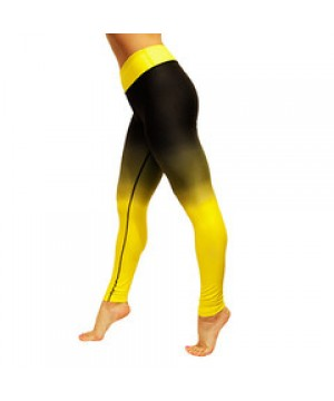 Lemon Noir Leggings