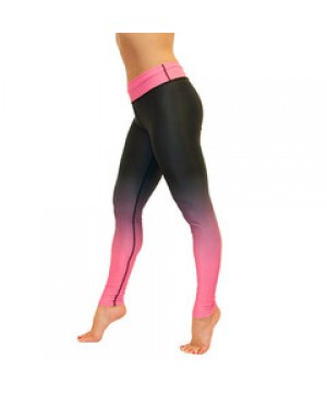 Pink Ombre Leggings