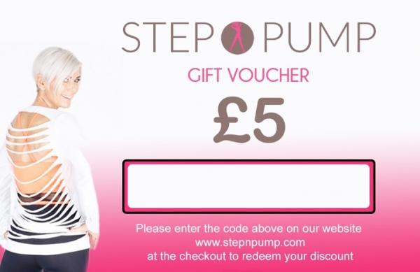 Step n Pump Gift Voucher £5