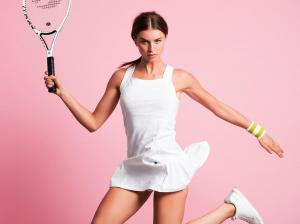 Pure Lime 7245 Serve S Pleated Tennis Dress