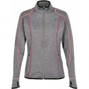 Pure Lime  4194 Athletic Jacket Charcoal Multistitch