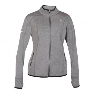 Pure Lime 4194  Athletic Jacket Charcoal Melange