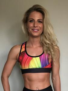 Combat Dollies Rainbow Sports Bra