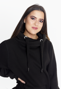 Step n Pump Essentials Cosy Hoodie - Jet Black