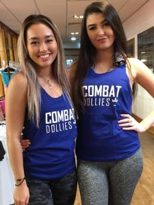 Combat Dollies Royal Blue Strap Back Vest