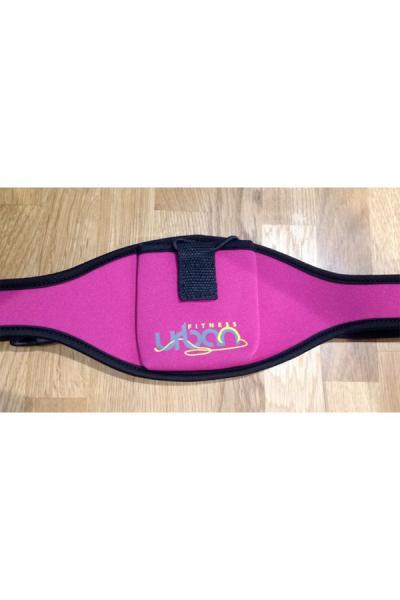 Urban Fitness Aerobic / Zumba / Dance Mic Belt - Hot Pink