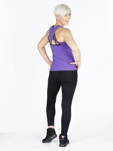 Step n Pump SP297 Loop Detail Vest Top With Support
